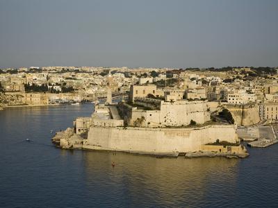 Vittoriosa, Harbour in Malta, Mediterranean, Europe Photographic Print by Donald Nausbaum