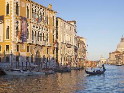 Palazzo Cavalli Franchetti From Accademia Bridge, Grand Canal, Venice, UNESCO World Heritage Site Photographic Print by Peter Barritt