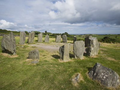 Drombeg Stone Circle, a Recumbent Stone Circle Locally Known As the Druid's Altar, Rep. of Ireland Photographic Print by Donald Nausbaum