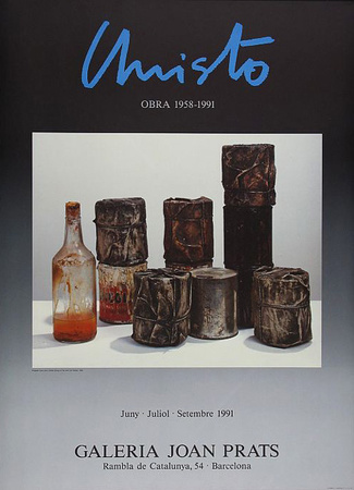 Wrapped Cans, Joan Prats, c.1991 Prints by  Christo