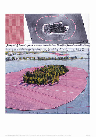 Surrounded Islands, Miami III Plakater af  Christo
