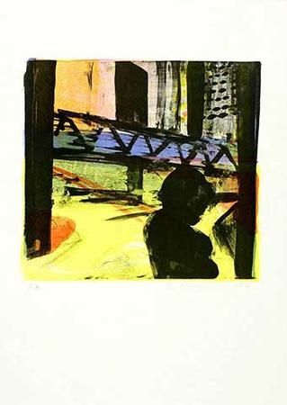 City, c.1998 Limited Edition av Reinhard Stangl