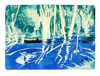 Amazonas 2, c.2007 Limited Edition av Reinhard Stangl
