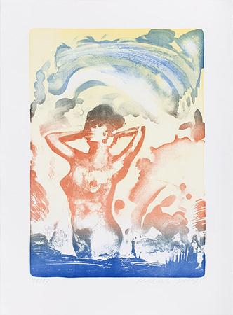Aus dem Wasser steigend Limited Edition av Reinhard Stangl