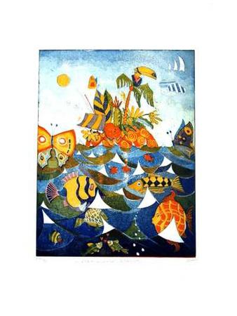 Karibische Nacht Limited Edition by Günther Fries