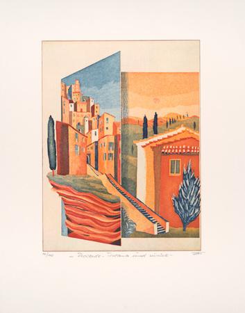 Provence-Toskana und zurück Limited Edition by Günther Fries