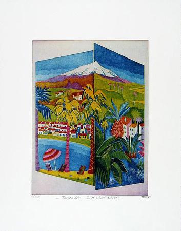 Teneriffa Süd und Nord Limited Edition by Günther Fries