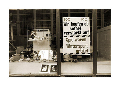 Teterow Warenaufkauf Collectable Print by Siegfried Wittenburg