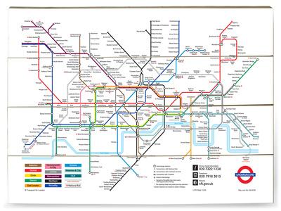 Underground Hvorfor Ser Alle Metrokort Ens Ud Historienet Dk