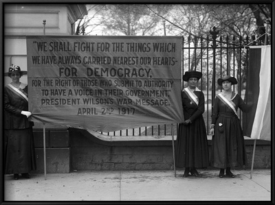 White House: Suffragettes Posters
