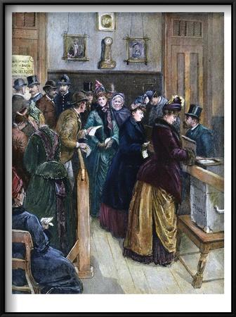 Women Voting, 1888 Prints