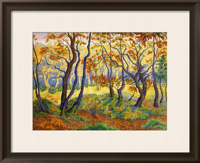 Edge of the Forest Framed Giclee Print by Paul Ranson