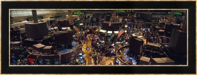 Stock Exchange, New York City, New York State, USA Framed Photographic Print