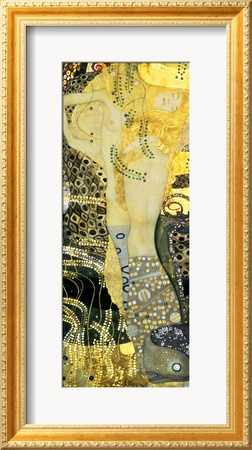 Water Serpents I, c.1907 Framed Giclee Print