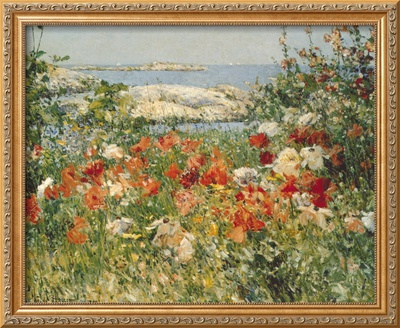 Ocean View Framed Giclee Print by Childe Hassam