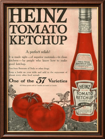 Heinz, Magazine Advertisement, USA, 1910 Framed Art Print