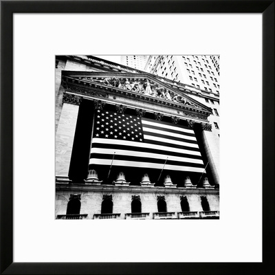 New York Stock Exchange Framed Photographic Print by Josef Hoflehner