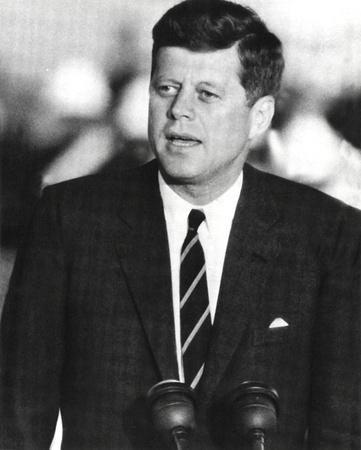 John F. Kennedy J.F.K. (Speaking) Photo Print Poster Photo