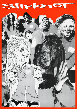 Slipknot Collage Music Poster Print Prints
