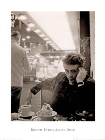 james dean smoking dennis stock print at. Black Bedroom Furniture Sets. Home Design Ideas
