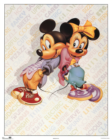 Mickey and Minnie Mouse Cool Photo