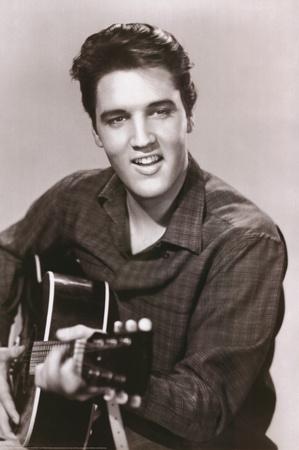 Elvis Presley (Love Me Tender) Music Poster Print Prints