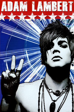 Adam Lambert Peace Music Poster Print Prints