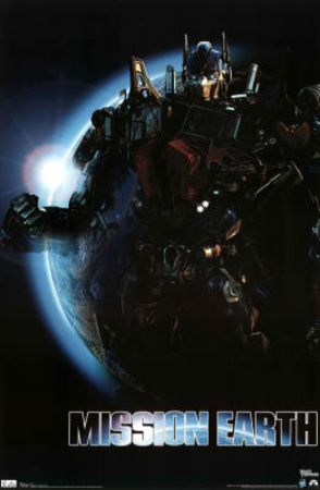 Transformers 3 Dark of the Moon Movie Mission Earth Poster Print Posters