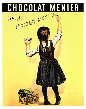 Firmin Bouisset (Chocolat Menier) Art Poster Print Photo