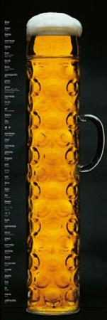Oktoberfest Beer Stein Door Poster Print Print
