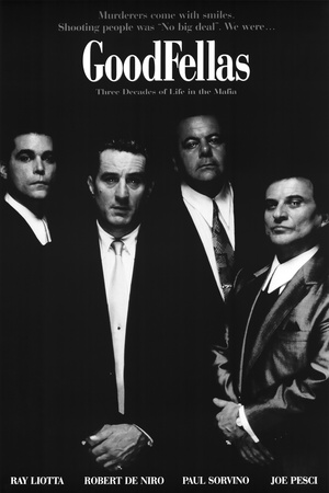 Goodfellas Movie Murderers Come with Smiles Poster Print Posters