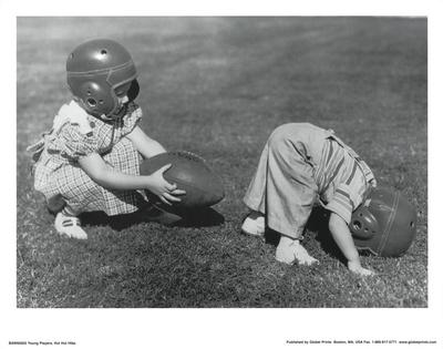 Young Players (Hut Hut) Art Poster Print Masterprint