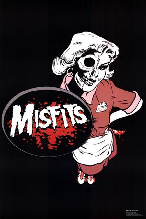 Misfits (Waitress) Music Poster Print Posters