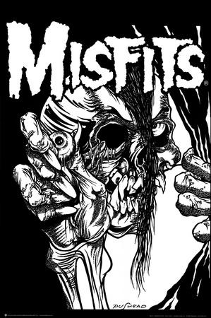 The Misfits (Pushead) Music Poster Print Photo