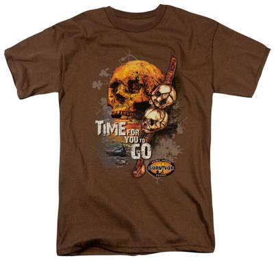 Survivor - Time to Go T-shirts