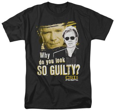 CSI Miami -So Guilty T-shirts