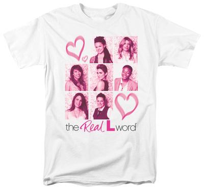 The Real L Word - Hearts T-shirts
