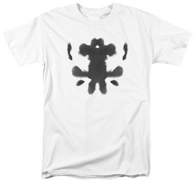 Watchmen - Rorschach Face T-shirts