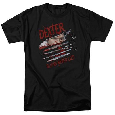 Dexter - Blood Never Lies T-shirts