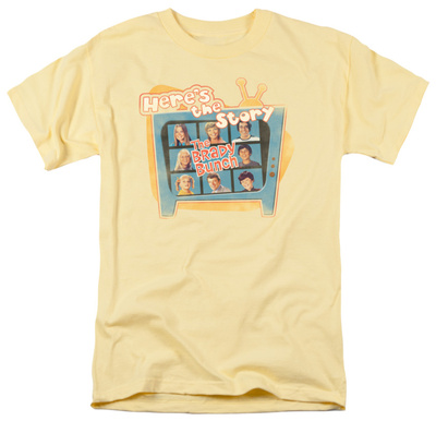 The Brady Bunch - Here's the Story T-shirts