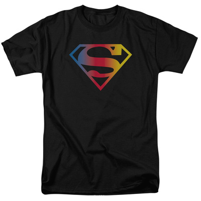 Superman – Gradient Superman Logo T-shirts