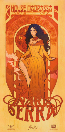 Serenity Movie Firefly Les Femmes Inara Serra Poster Print Prints