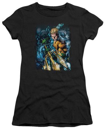 Juniors: DC Comics New 52 - Aquaman 1 Shirts