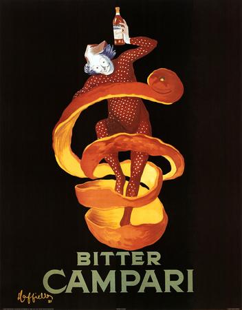Leonetto Cappiello Bitter Campari Vintage Ad Art Print Poster Plakát