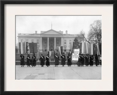 White House: Suffragettes Framed Photographic Print