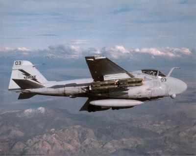 A-6E Intruder (In Air) Art Poster Print Photo