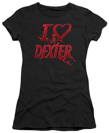 Juniors: Dexter - I Heart Dexter T-shirts