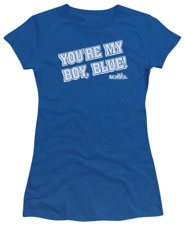 Juniors: Old School - My Boy Blue T-shirts