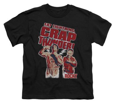 Youth: Rocky – Eat Lightning T-shirts