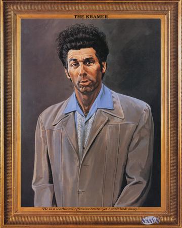 Seinfeld Kramer Portrait TV Poster Print Pôsters na ...